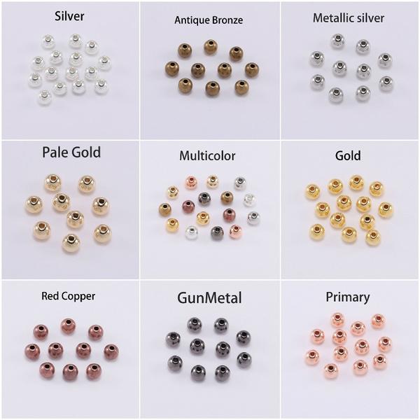 forjewelrymaking, diyjewelry, Jewelry, roundspacerbead