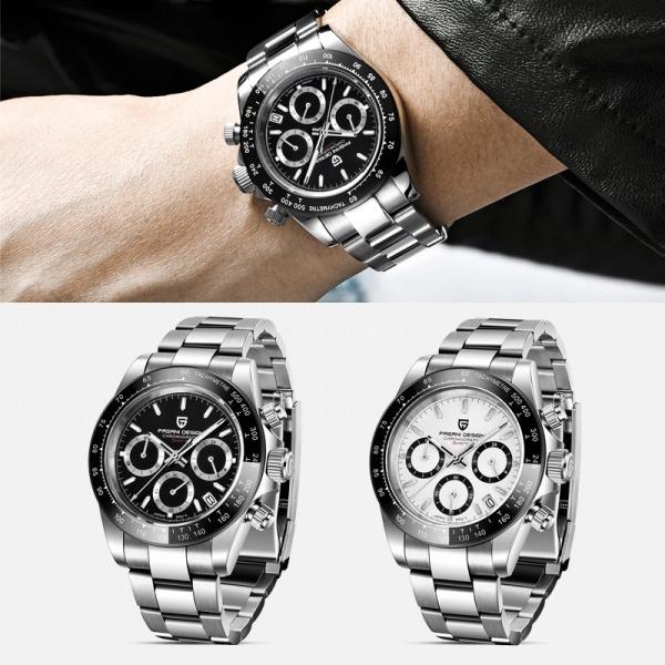 Chronograph, Steel, quartz, fashion watches