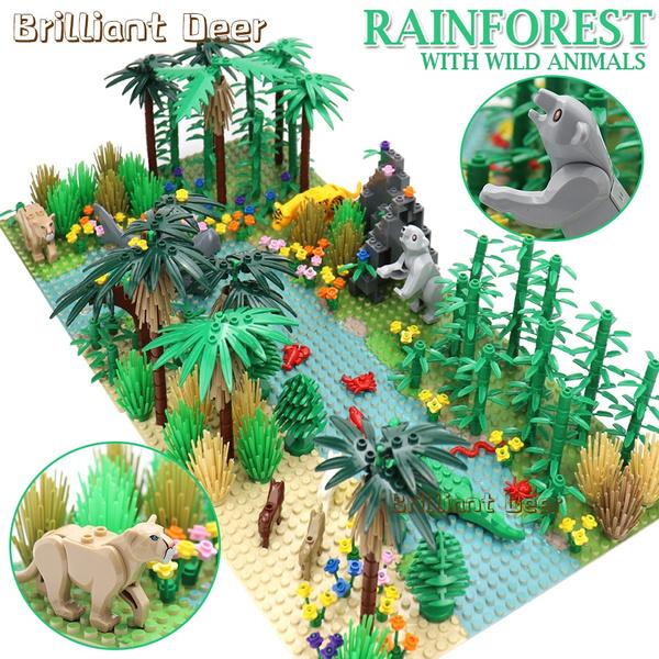 forestblock, Toy, Lego, constructiontoy