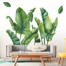 Plants, windowsticker, Home Decor, Door
