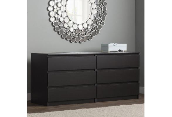 Kepner 6 Drawer Double Dresser Wish