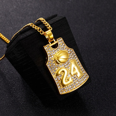 Steel, Basketball, punk necklace, Jewelry