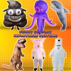 Cosplay, Adult, Inflatable, Halloween