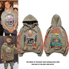 Casual Hoodie, velvet, Sweatshirts, Men