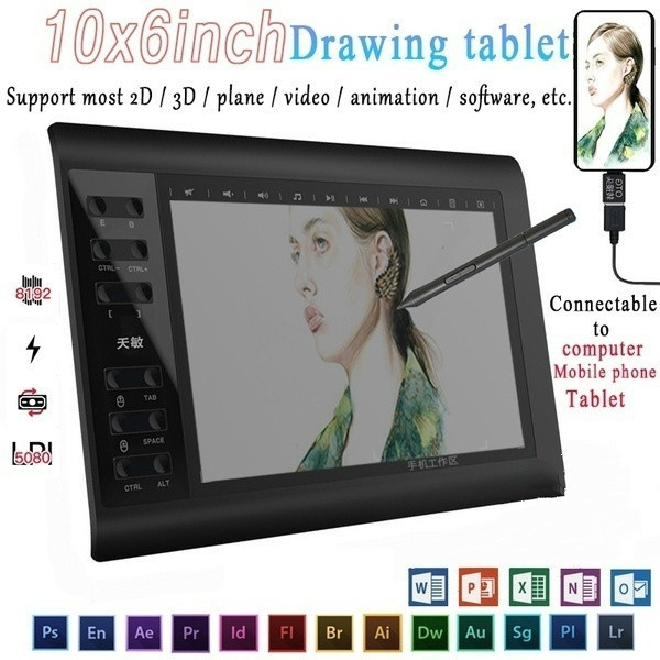 Tablets, Office & School Supplies, electronicdrawingboard, drawingtablet