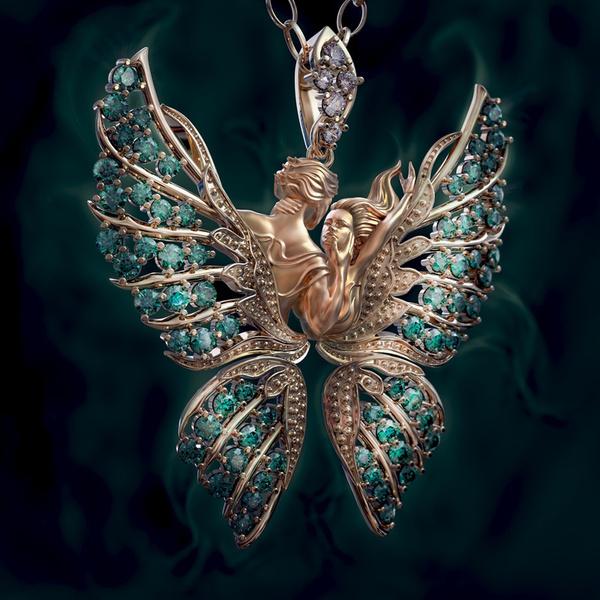 wingnecklace, angelnecklace, angelwingsnecklace, Love