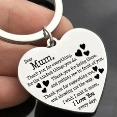 Heart, Love, Key Chain, Jewelry
