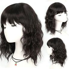 wig, bangswig, Shorts, synthetic wig