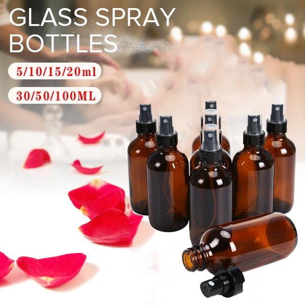 amber, Mini, Bottle, transparentbottle