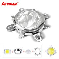 led, lensreflector, diyfloodlight, Glass