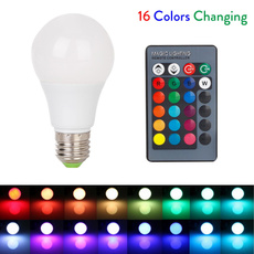 rgbledbulbe27, led, Remote, ledglobelightbulb