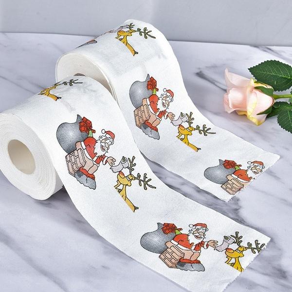 decoration, Decor, Christmas, santaclaustoiletpaper