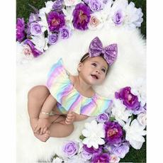 infantbabygirl, rainbow, #Summer Clothes, Fashion