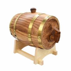 Wood, winebucket, Home & Living, woodenbarrel