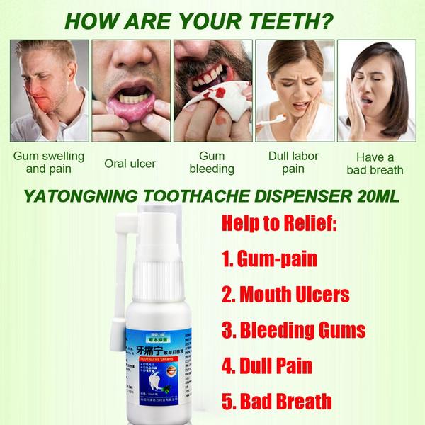 mintspray, gumpain, Herb, teethwhite