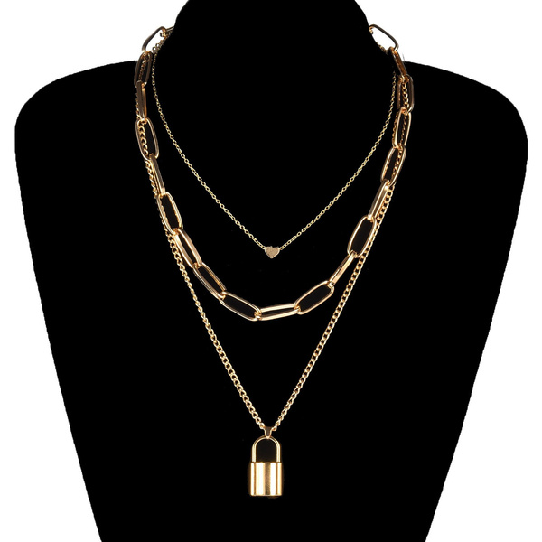 keynecklace, Heart, Fashion, Jewelry