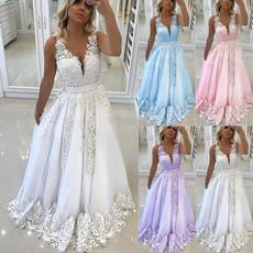 sleeveless, Plus Size, Lace, Evening Dress
