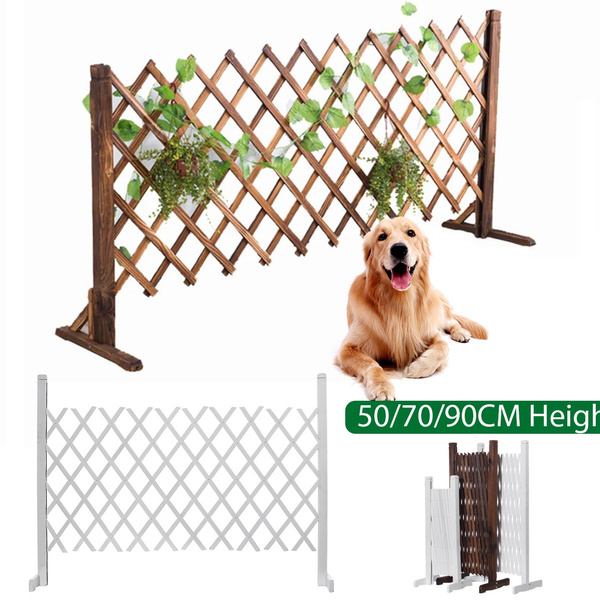Portable Expanding Fence Wooden Screen