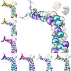 latexballoonschain, Decor, confettilatexballoon, Wedding Accessories