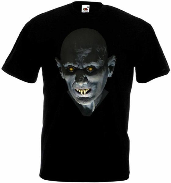 Fashion, Cotton T Shirt, salemslotv8tshirtblackmovieposterallsizess5xl, Movie
