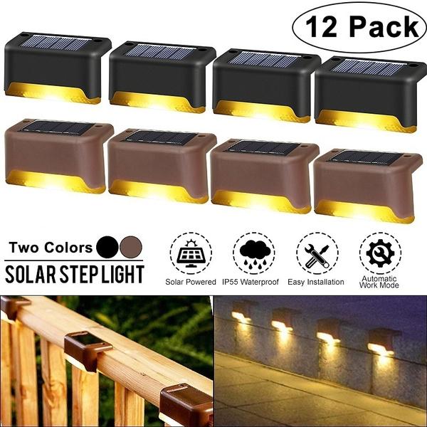 solarsteplight, ledwalllamp, Outdoor, led
