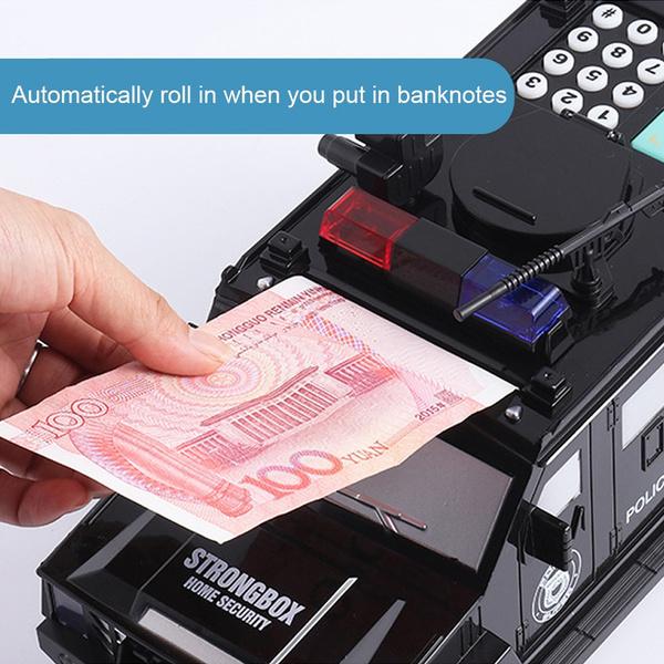 piggybank, Gifts, banknote, Cars