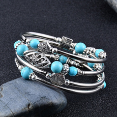 turquoisebracelet, Natural, Jewelry, Beaded