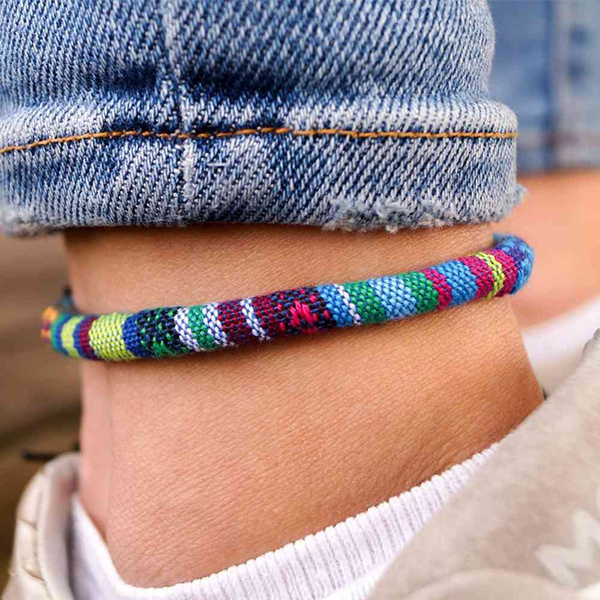 hippie, Festival, fusskettchen, Handmade