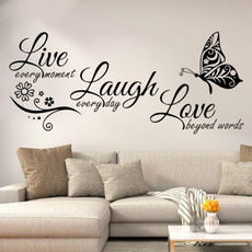 butterfly, englishcreativesticker, Love, Home Decor