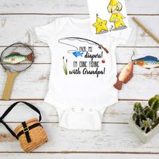 fishingonesie, babyromper, Gifts, funnybabyshowergift