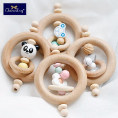 Toy, teethersforbaby, Jewelry, Wooden