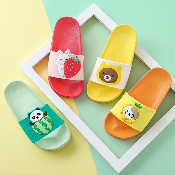 Children Cartoon Slippers Girls Summer