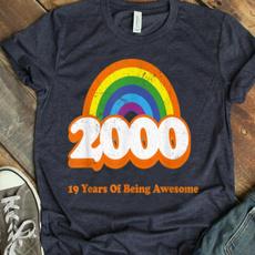 rainbow, trending, Shirt, bday
