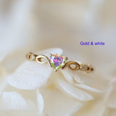 Heart, 18k gold, Jewelry, gold