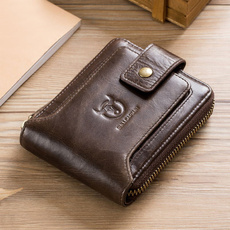 Fashion, rfidwallet, leather, Men