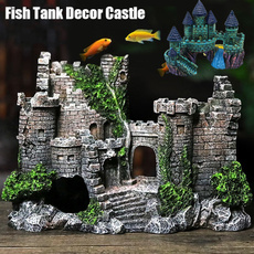 fishtankcastledecoration, aquariumsaccessory, Tank, fishtankcavedecoration