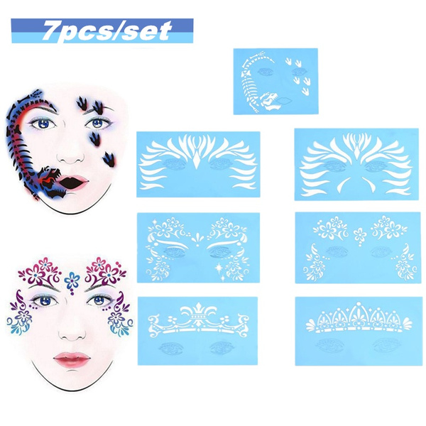 tattoo, stencil, facepaint, Beauty