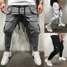 trousers, bigpocket, Casual pants, Fitness