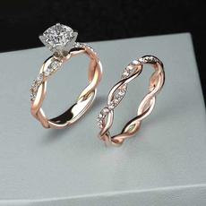 Мода, wedding ring, gold, sterling silver
