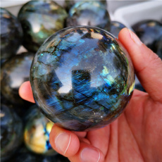 bluecrystalball, polished, crystalsphere, crystaldecor
