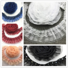 Trim, Sewing, Lace, Pleated