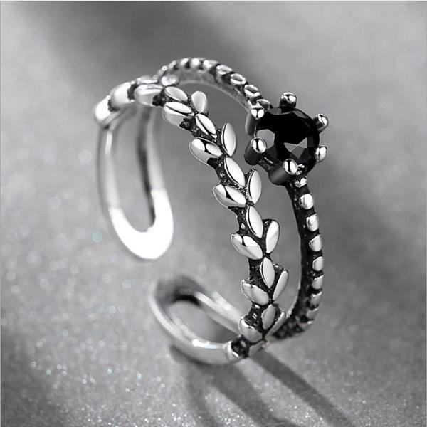 Sterling, black, Fashion, Jewelry