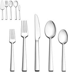 Steel, serving, eating, for