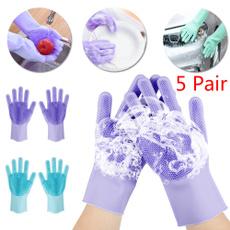 dishwashing, siliconeglove, Silicone, washingglove