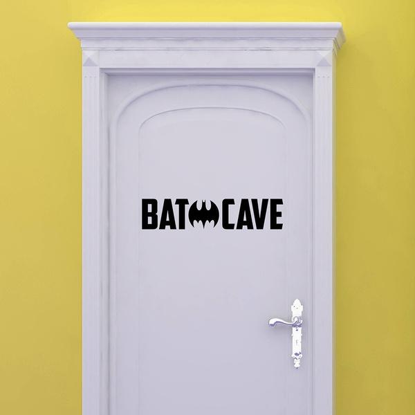 Bathroom, Removable, doorsticker, For Boys