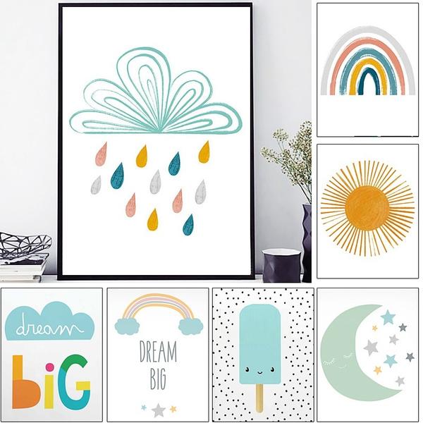 rainbow, Decor, posters & prints, art