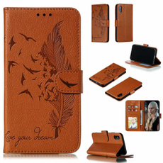 case, huaweihonor20i, Wallet, leather