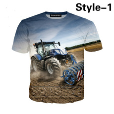 Fashion, tractortshirt, tractortee, Harajuku