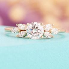 DIAMOND, Jewelry, omensring, Diamond Ring