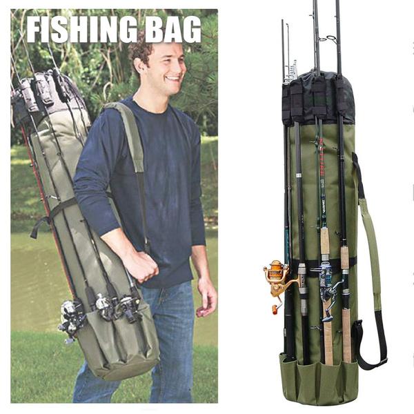 fishingrodbag, case, fishingtacklebag, Nylon